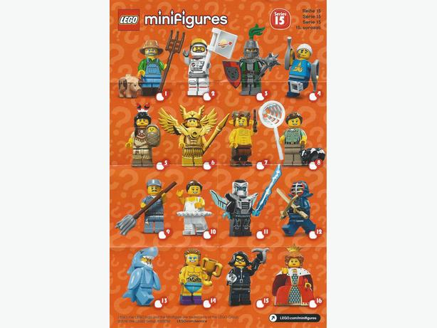 LEGO Collectible Minifigures Series 15 Complete Set