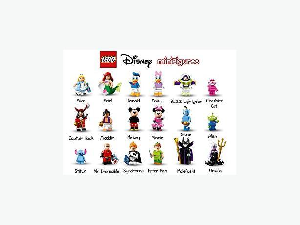 LEGO Disney Collectible Mini-figures Series-Sealed complete set