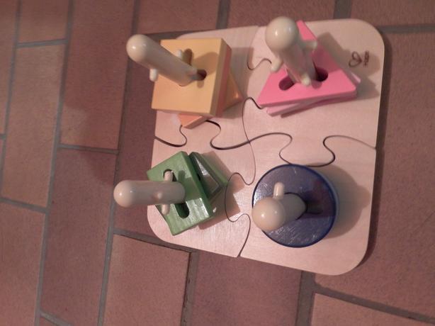 Hape Creative Wooden Peg Puzzle