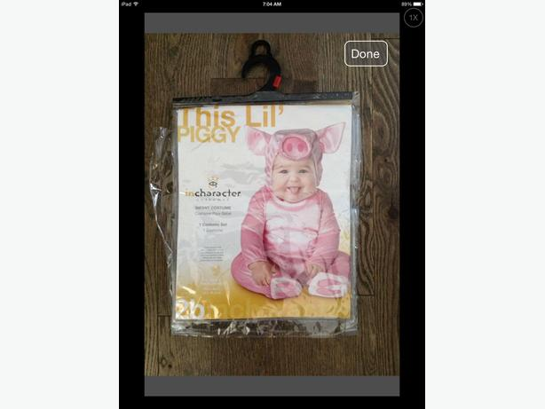 NEW, Infant Pig Costume (size 0-6 months, XS)