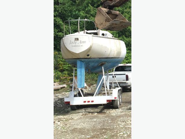 Sail boat trailer 25-32 approx feet.