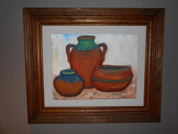 Mexican Pot Art/Picture