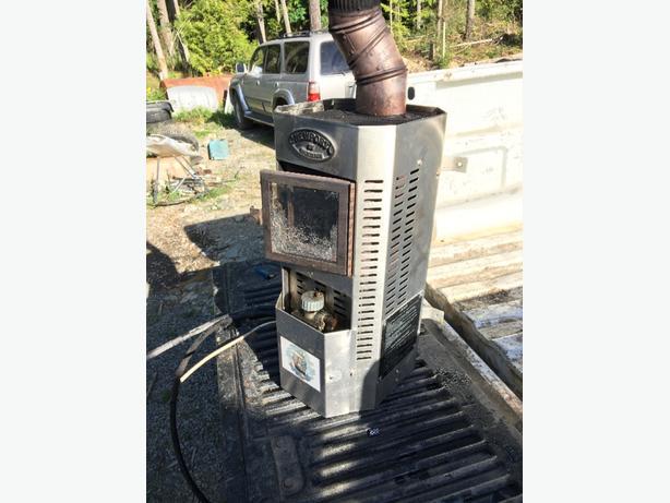 Dickenson diesel heater with pump