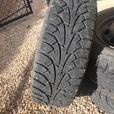 Winter Tires on Rims 195/65 R15  91T
