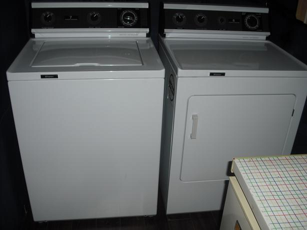 HEAVY DUTY ... WASHER .. & .. DRYER
