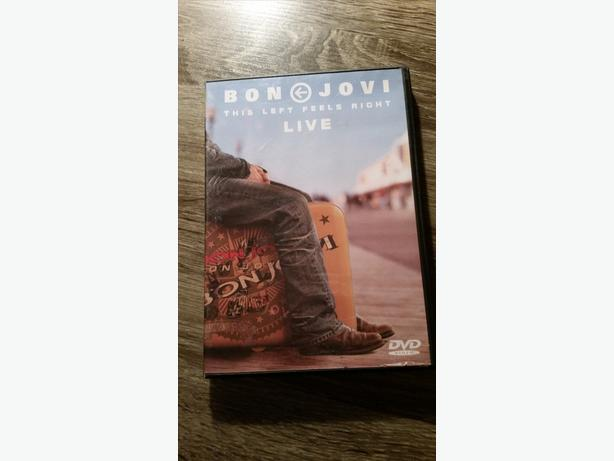 TWO  BON JOVI  DVD'S