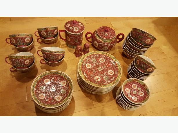 Chinese Dishes - Excellent condition