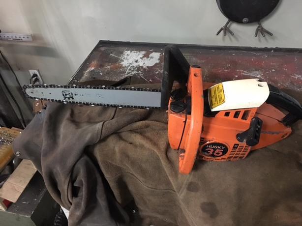Husky 35 chainsaw