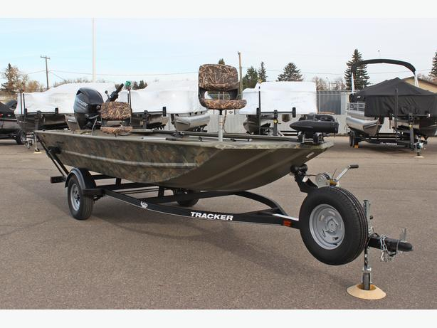 2017 Tracker Grizzly 1654 Sportsman MVX Blind Duck Edition