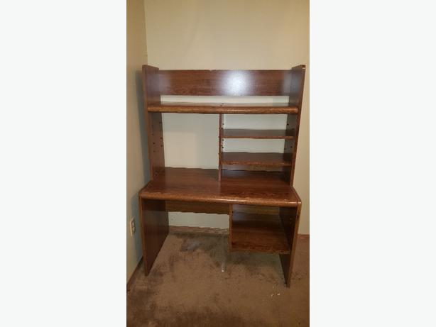 Computer desk, wood