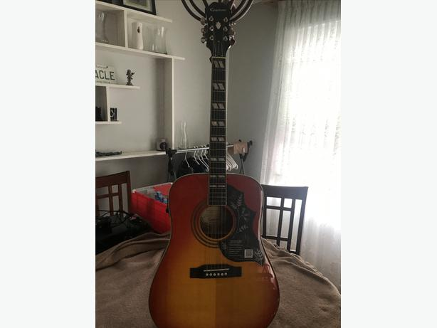 Epiphone Humingbird (Brand new) with case
