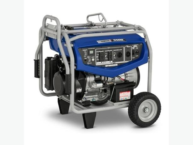 New Yamaha EF5500DE Gas Powered Generator