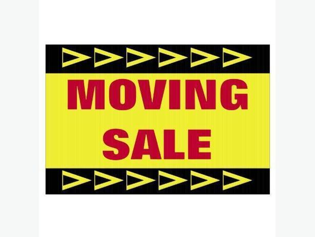 MOVING SALE - Cathedral/Crescents - entire household must sell