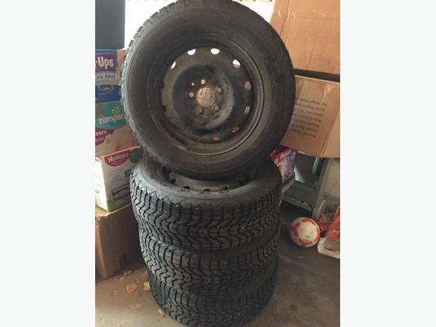 """Firestone Winterforce 16"""" Winter Tires"""
