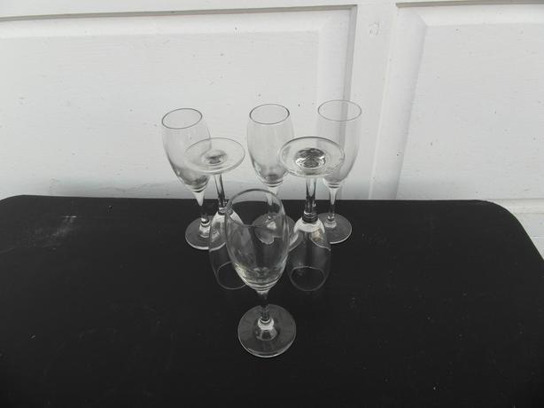 set of 6 champange glasses