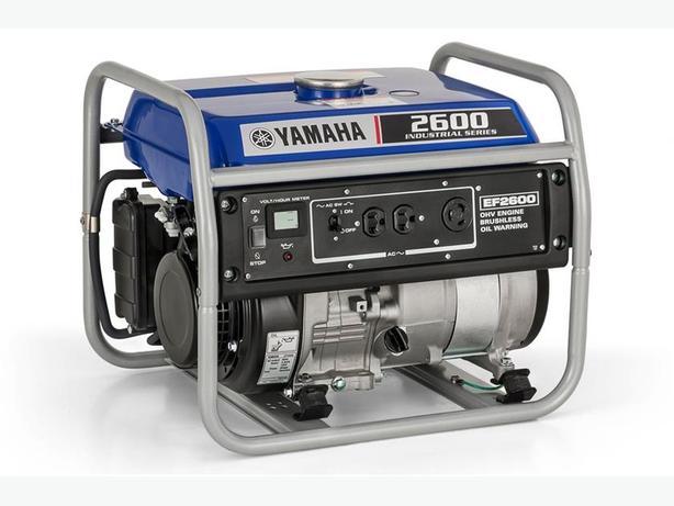 New Yamaha EF2600 Gas Powered Generator