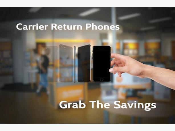 Save On Like New Carrier Return Cellphones!