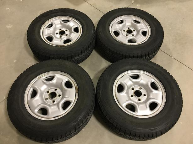 4 Blizzak Winter Tires Honda Pilot 2003-2008
