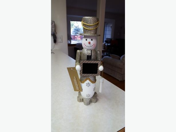 Snowman Nutcracker Count Down to Christmas
