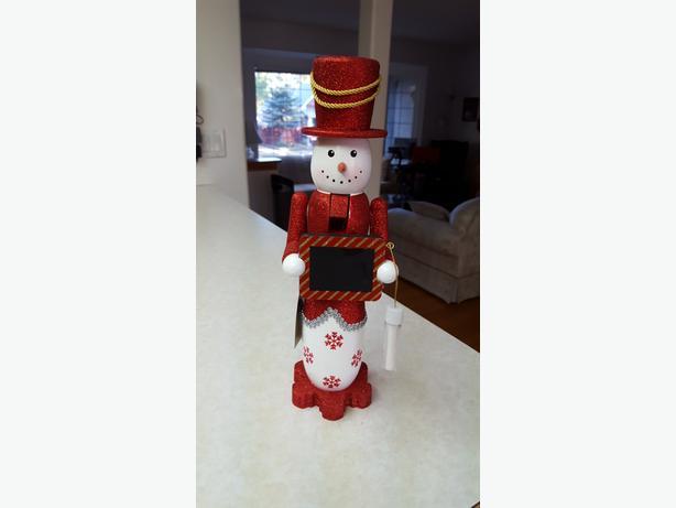 Snowman Nutcracker Count Down To Christmas