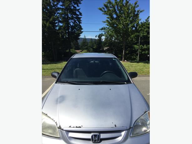 *MUST GO THIS WEEK* 2003 HONDA CIVIC $1100 MOVING TO MAINLAND