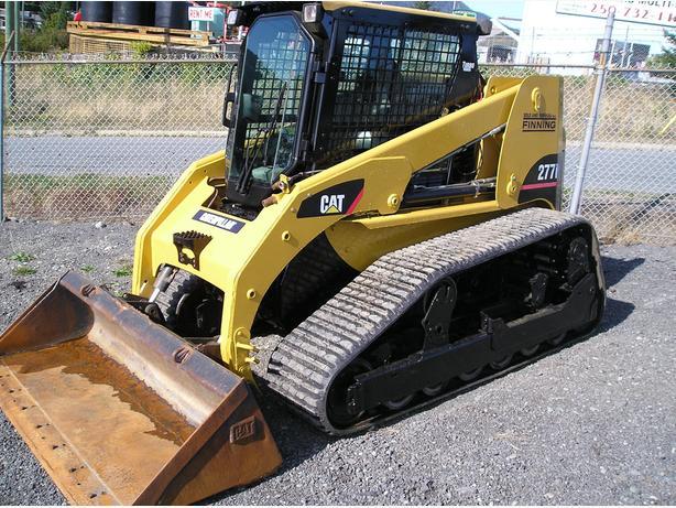CAT 277B TRACK LOADER