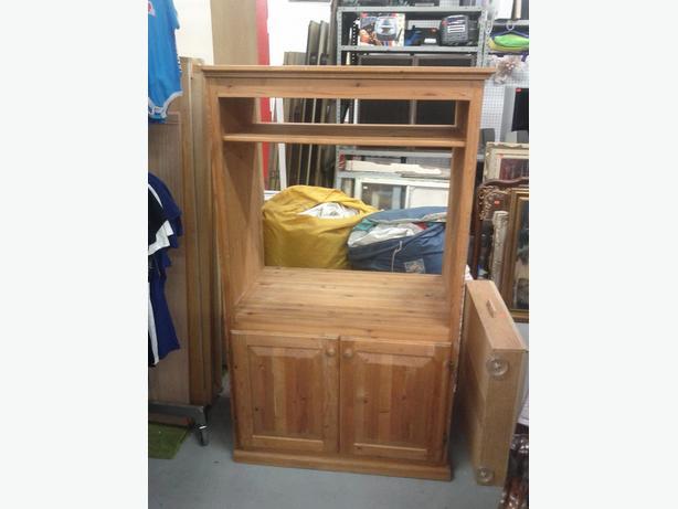 Older Wood TV Cabinet