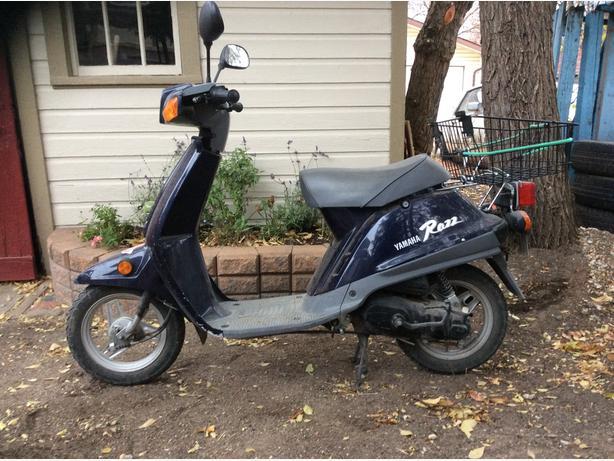 49 cc Yamaha Razz Scooter