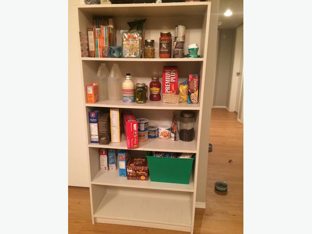 VERY Solid White Bookcase