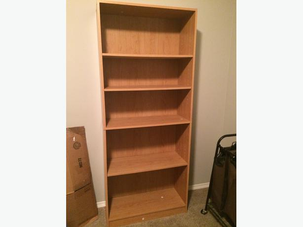 Wooden Bookcase [slight fixer-upper]