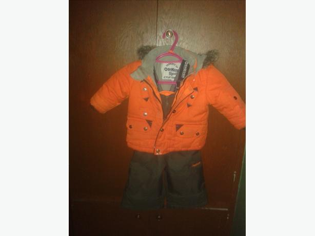 boys 12 mth old oshkosh snowsuit