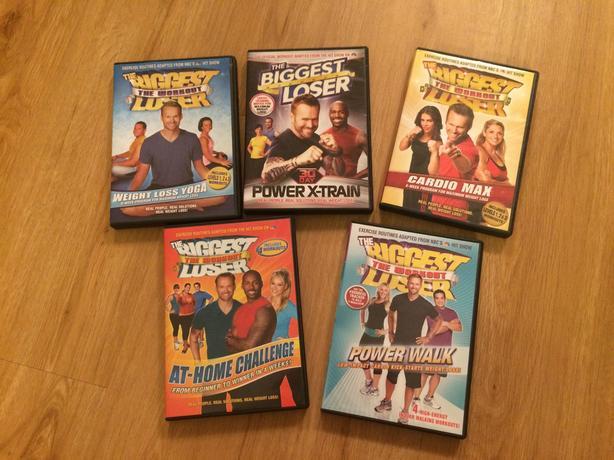 5 Biggest Loser Workout DVDs