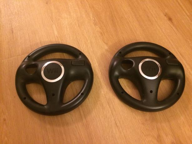 2 Wii Steering Wheels