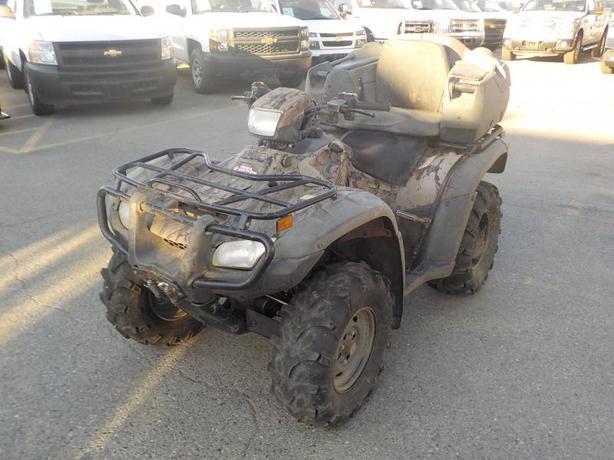 2012 Honda Rubicon Trail Edition 4WD ATV