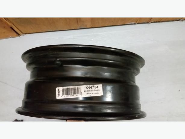 Steel black rim - 17 inch