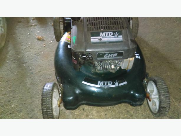 FOR-TRADE: 6 hp MTD Rearbag Lawnmower-no bag