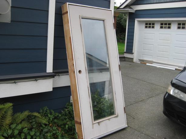 Exterior steel door and frame