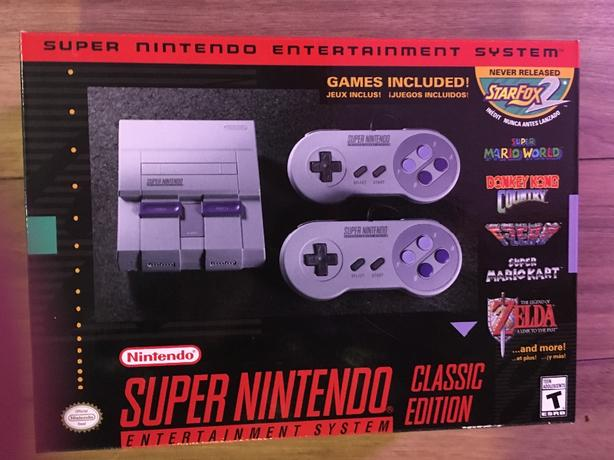 super nintendo classsic edition, new , unopened