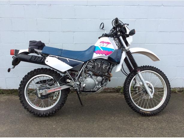 Yamaha XT 350 Dual sport street legal