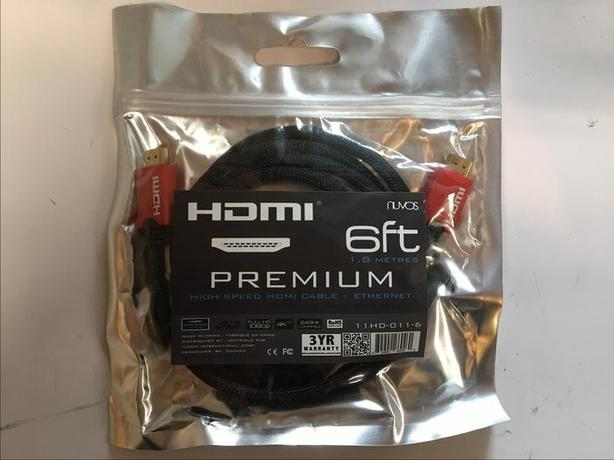 Brand new 6' Premium HDMI Cable