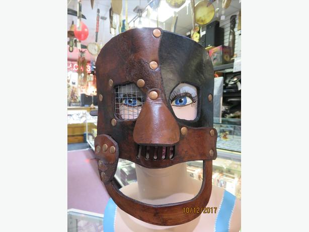 BRUCE HARDY HANDMADE LEATHER MASKS