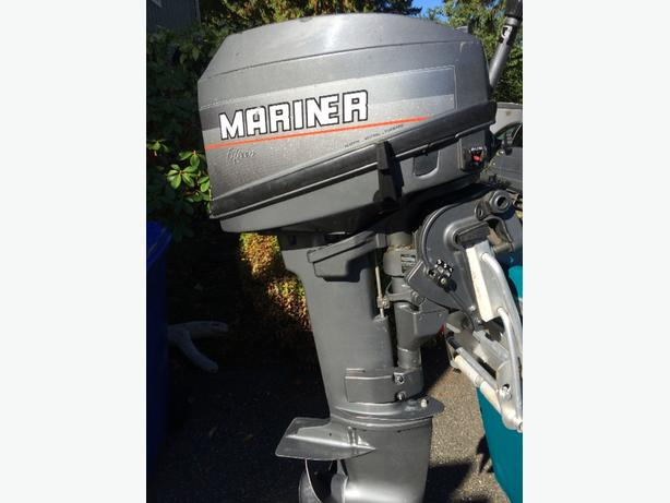 15HP Mariner outboard