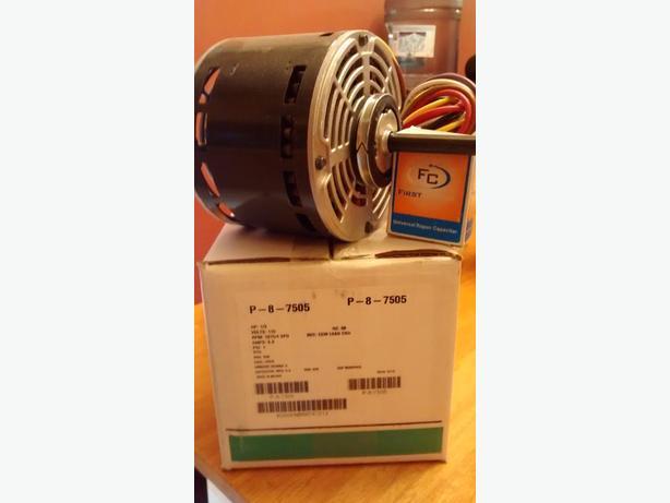 Lennox furnace motor and run capacitor