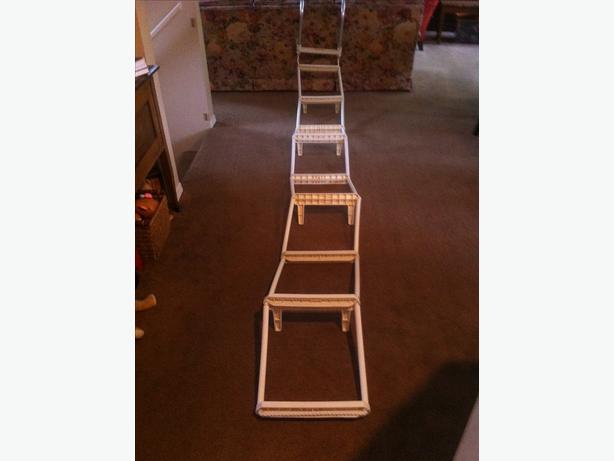 folding fire escape ladder