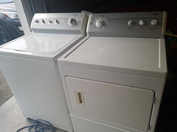 Kenmore 700 Washer&Dryer Combo