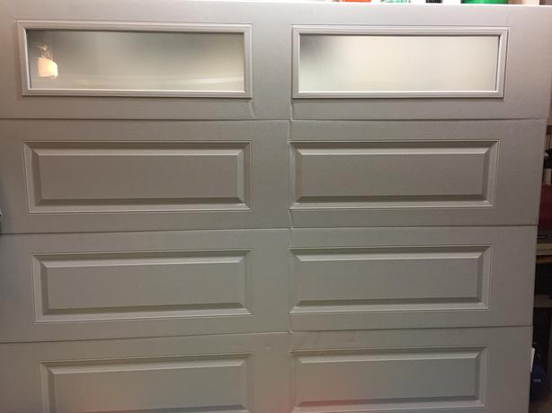 Single Garage Door - damaged
