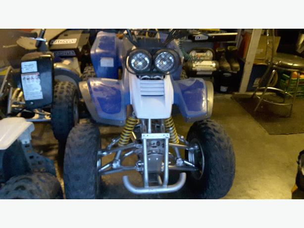 TRADE TWO QUADS FOR HARLEY OR?