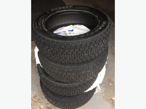 Set of 4 - Dunlop Studless Winter Tires