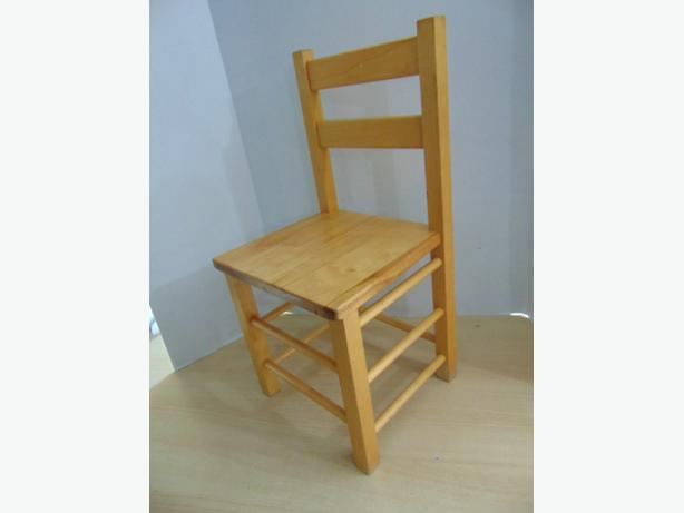 Children's Single Solid Wood Chair Age 2-4