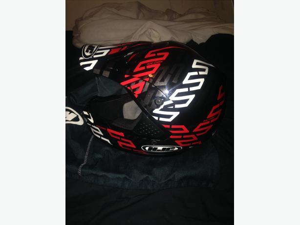 Almost new hjc helmet
